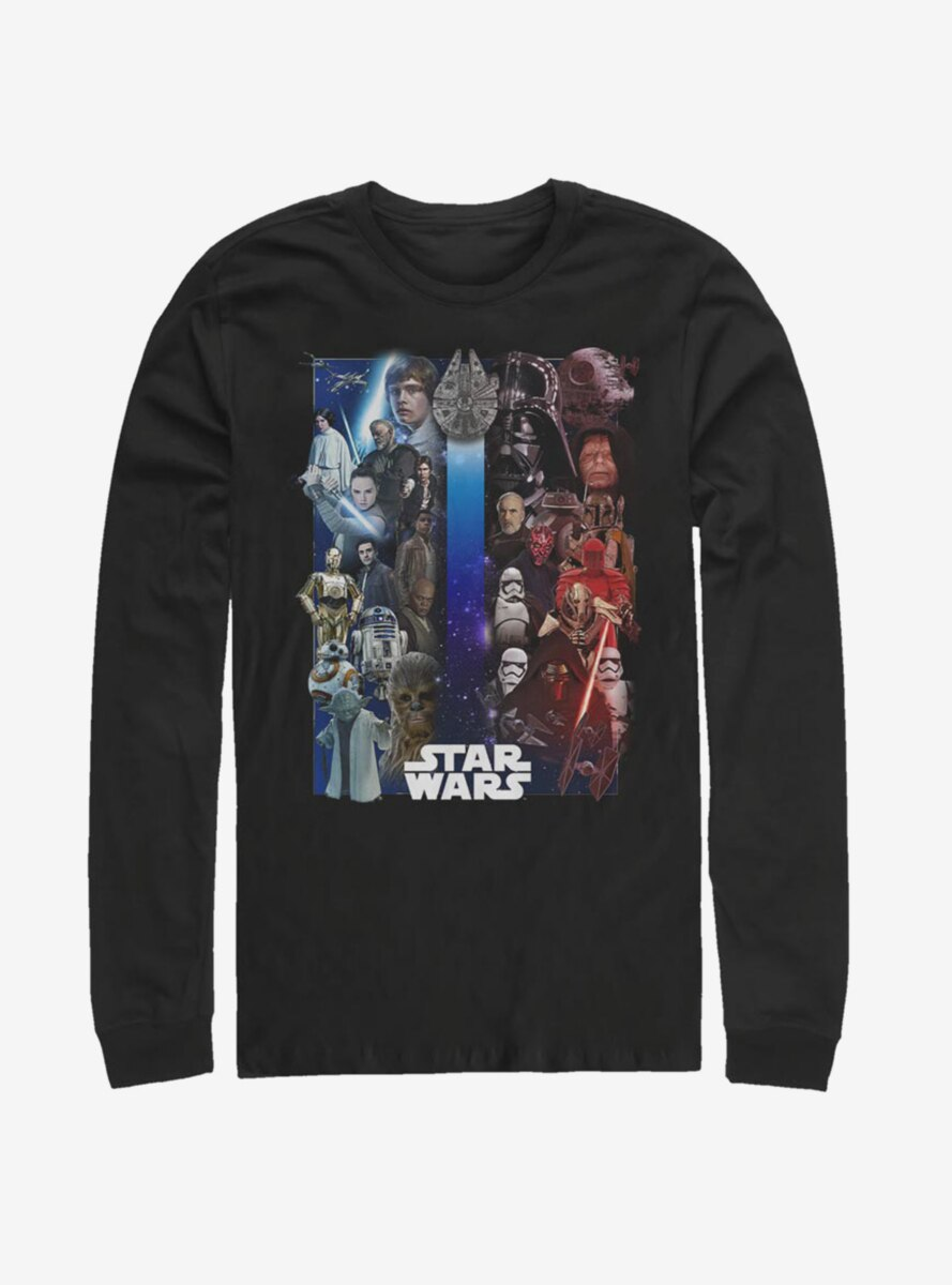 Star Wars Divided Forces Long-Sleeve T-Shirt
