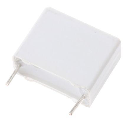KEMET 1μF Polyester Capacitor PET 160 V ac, 250 V dc ±10%, Through Hole (5)