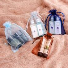 10pcs Cosmetic Drawstring Storage Bag