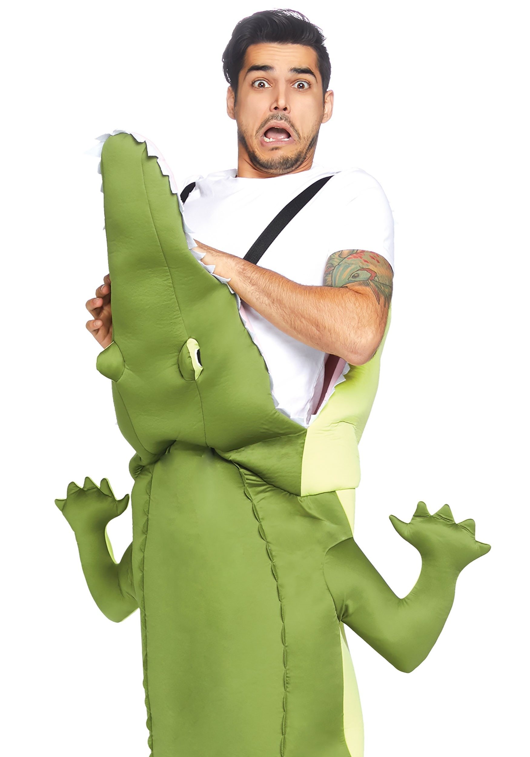 Man Eating Alligator Adult Costume