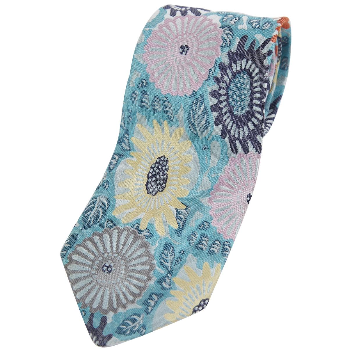 Byblos \N Krawatten in  Blau Seide