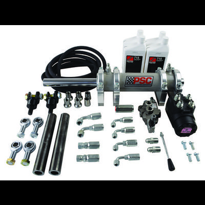 PSC Steering Full Hydraulic Steering Kit with Rear Steer with 2.5 Ton Rockwell Axle - FHK300RS