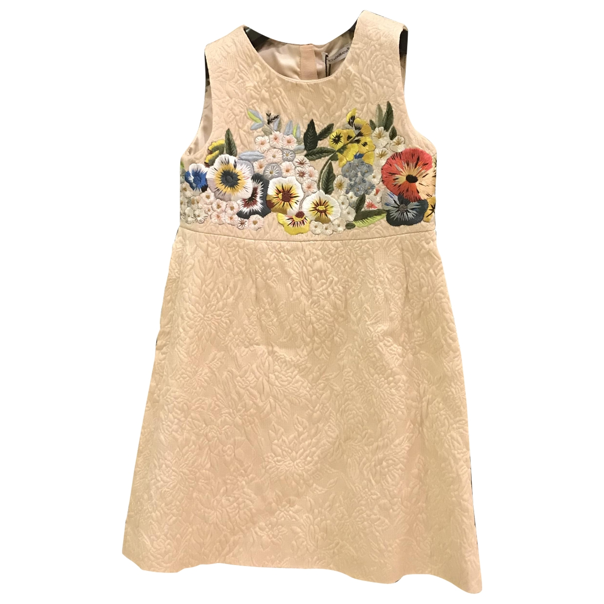 Dolce & Gabbana \N White Cotton dress for Kids 5 years - up to 108cm