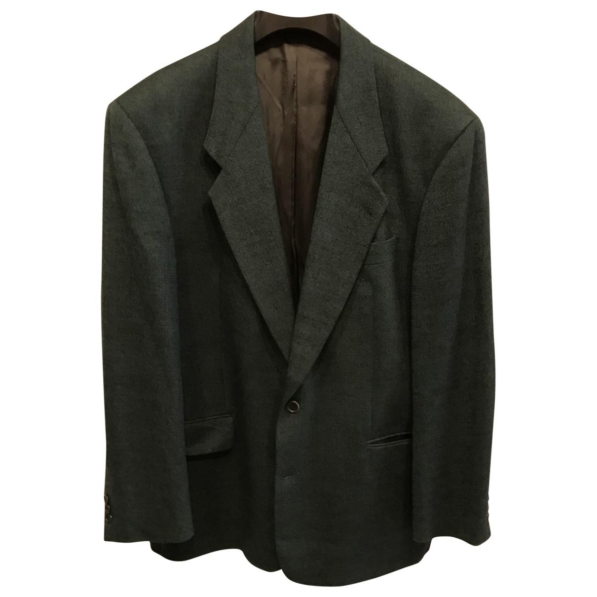 Boss - Vestes.Blousons   pour homme en laine - vert