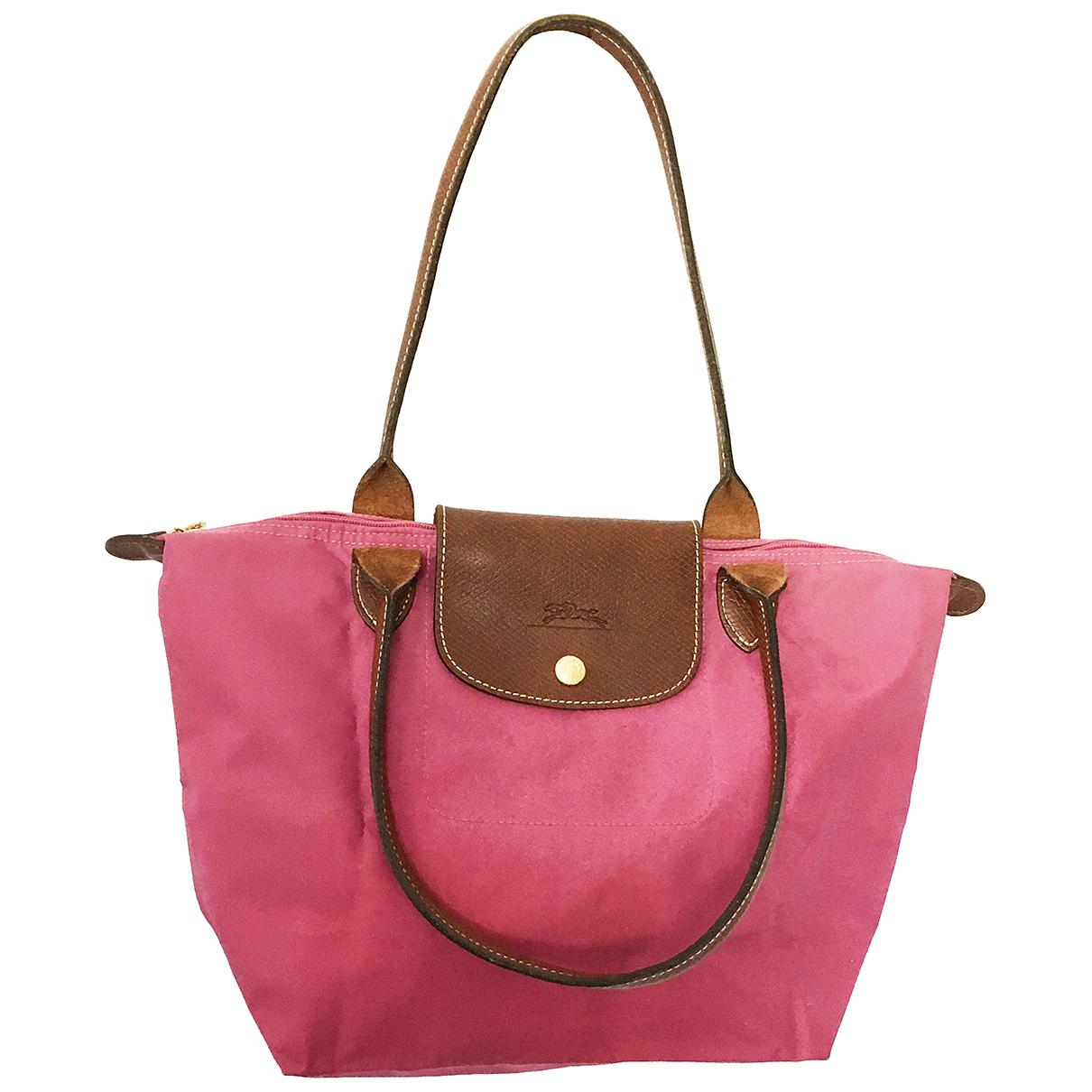 Longchamp Pliage  Handtasche in Leinen