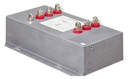 Roxburgh EMC , MDF 50A 480 V ac 60Hz, Flange Mount RFI Filter, Stud, Single Phase