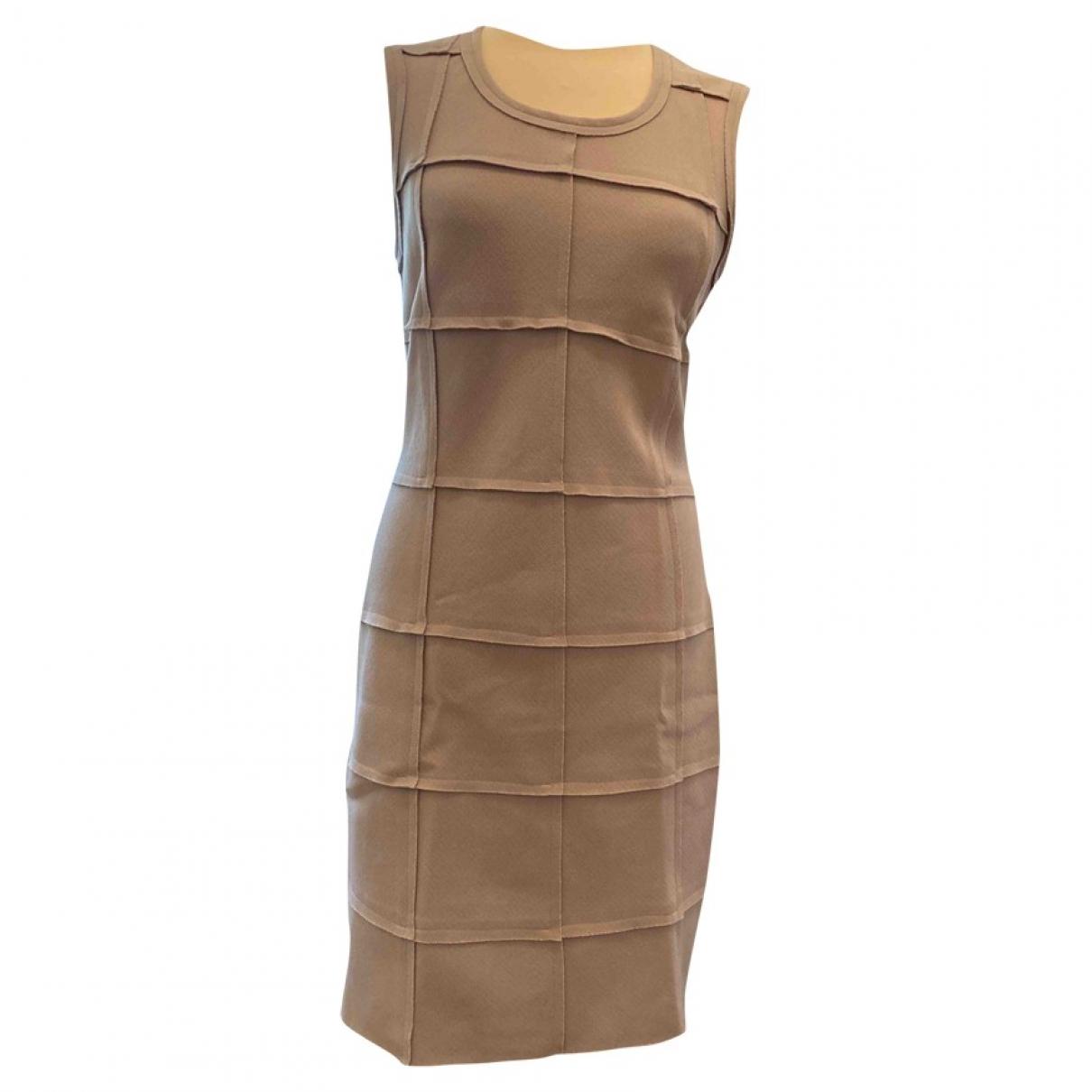 Liviana Conti \N Kleid in  Beige Synthetik