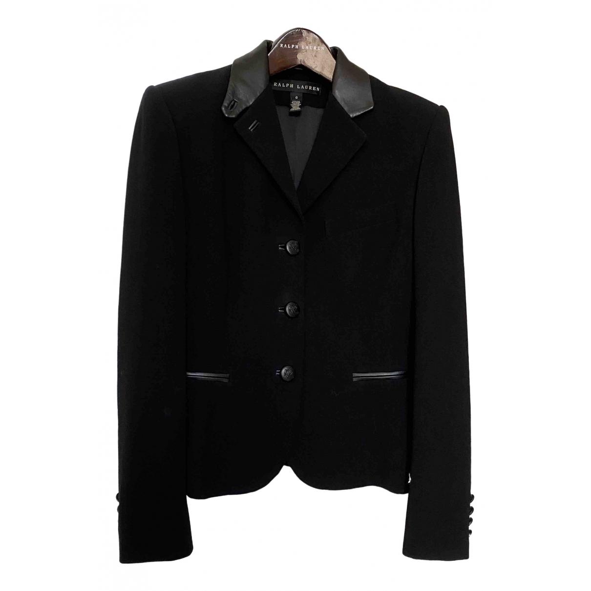 Ralph Lauren - Veste   pour femme en laine - noir