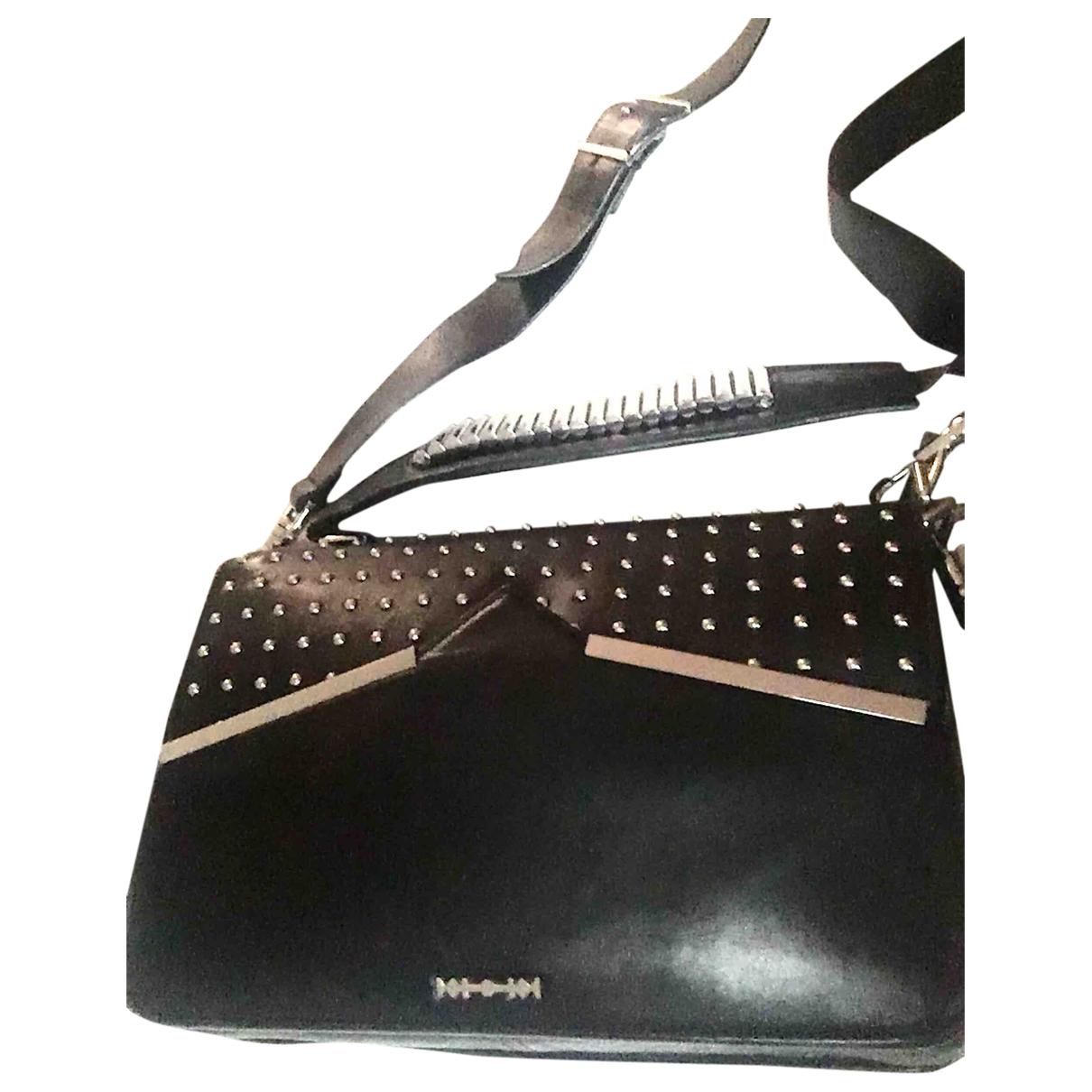 Mcq \N Handtasche in  Schwarz Leder