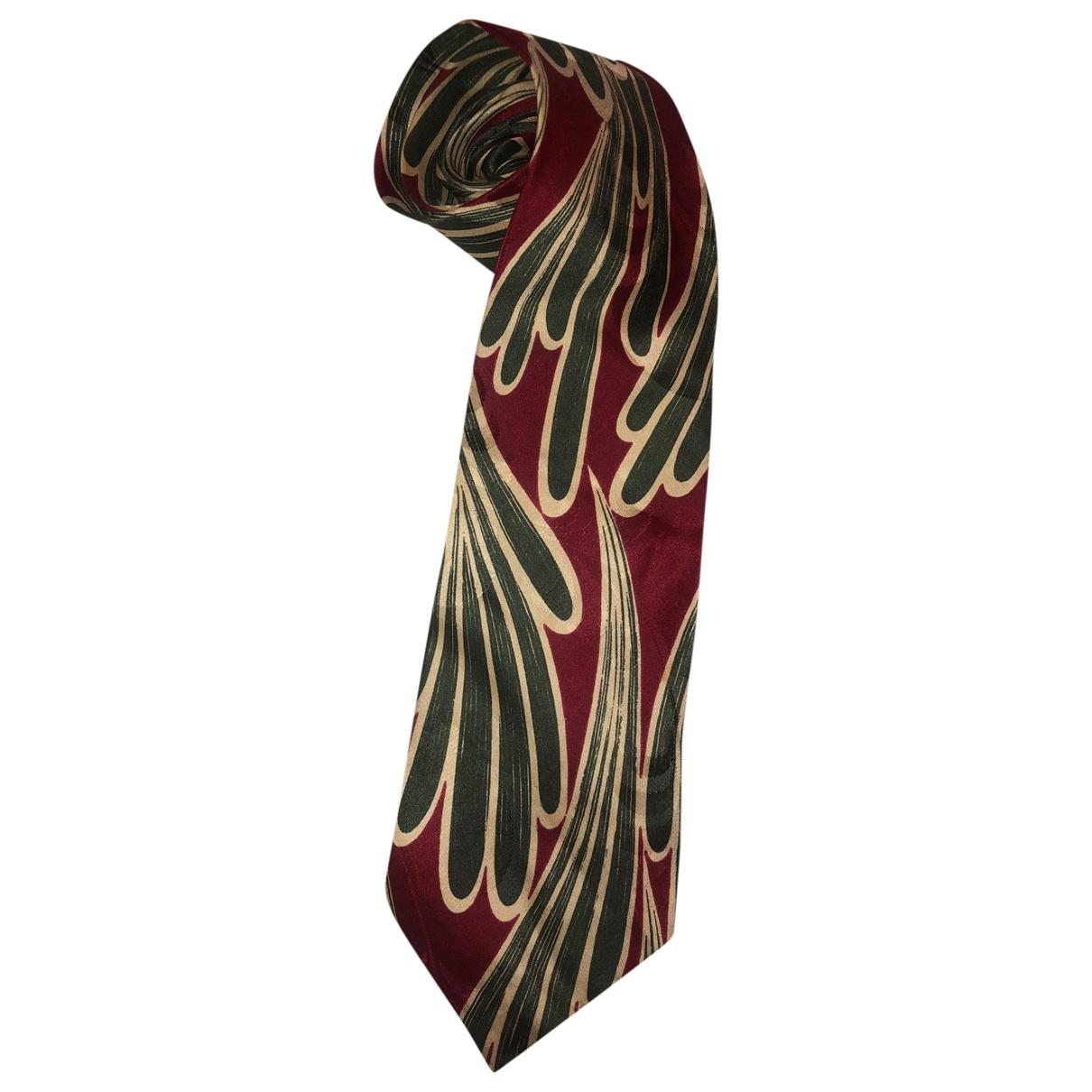 Boss \N Krawatten in  Bunt Seide