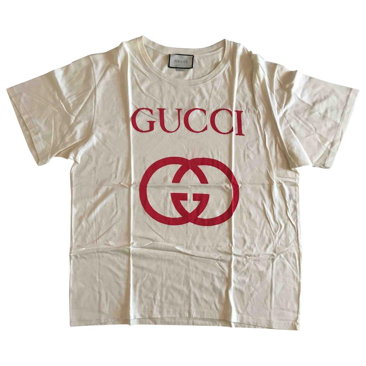 Gucci - Tee shirts   pour homme en coton