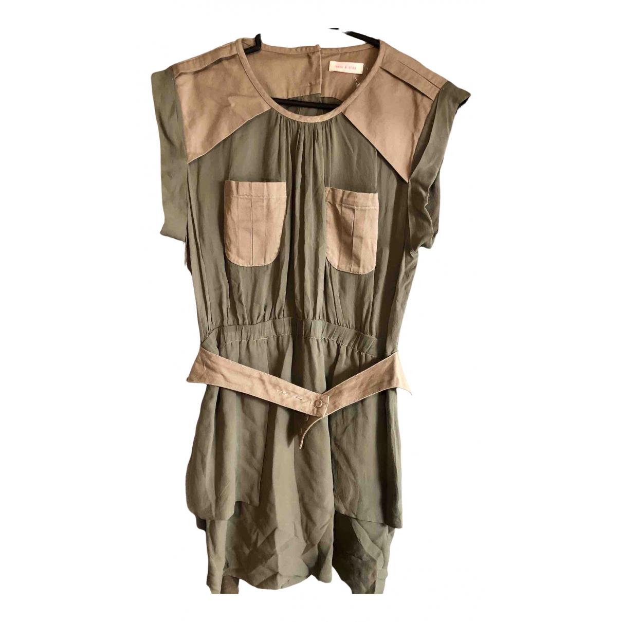 Sass & Bide \N Khaki Silk dress for Women 38 FR