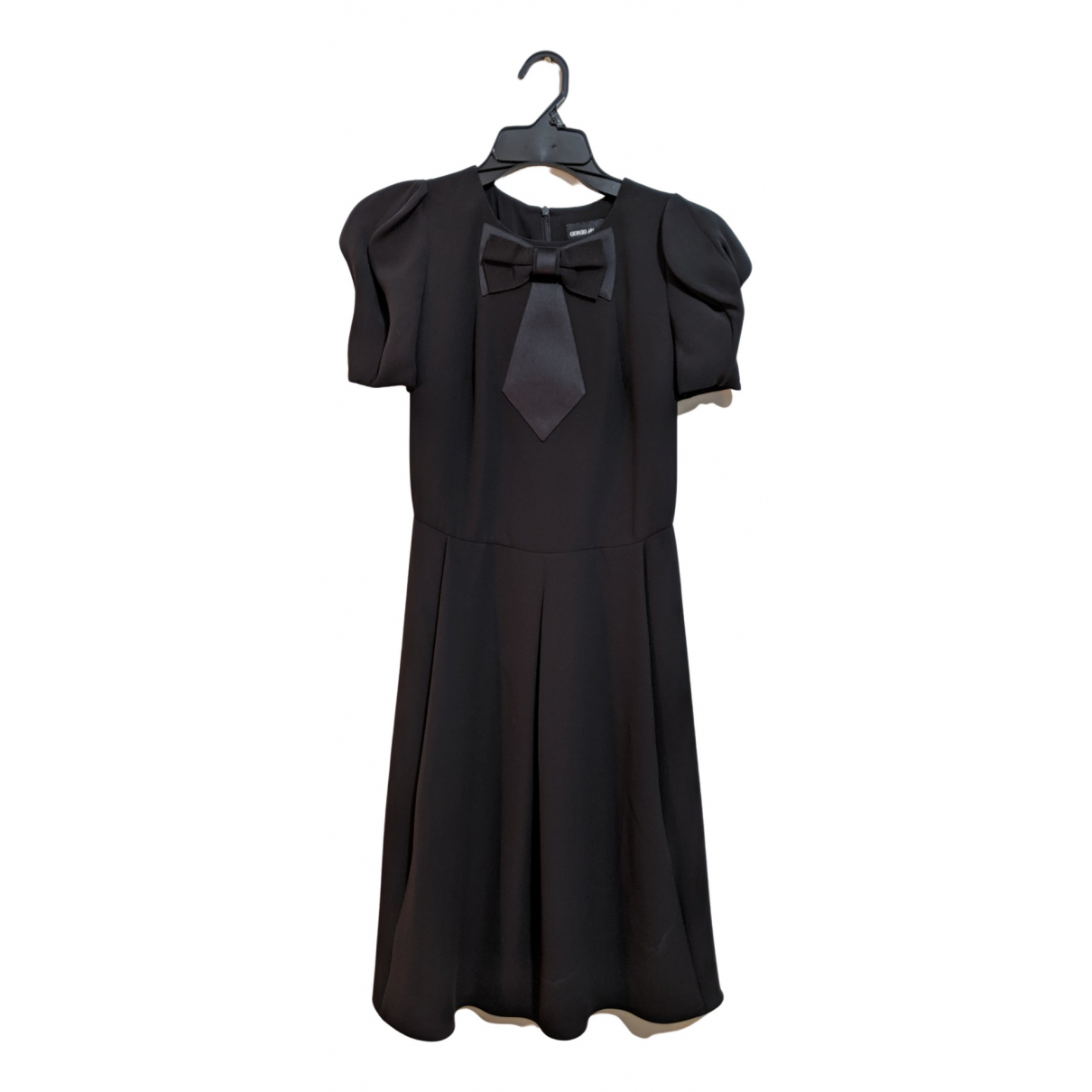 Giorgio Armani N Black Silk dress for Women 38 IT