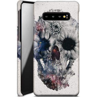 Samsung Galaxy S10 Plus Smartphone Huelle - Floral Skull 2 von Ali Gulec