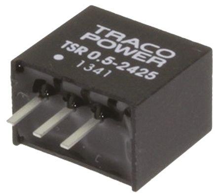 TRACOPOWER Through Hole Switching Regulator, 2.5V dc Output Voltage, 4.75 → 32V dc Input Voltage, 500mA Output