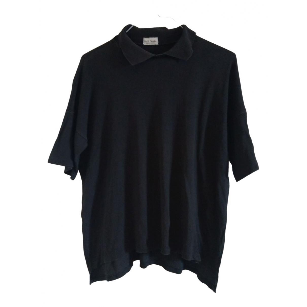 Paul Smith - Polos   pour homme en coton - noir