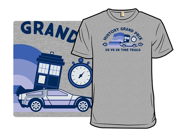 History Grand Prix T Shirt