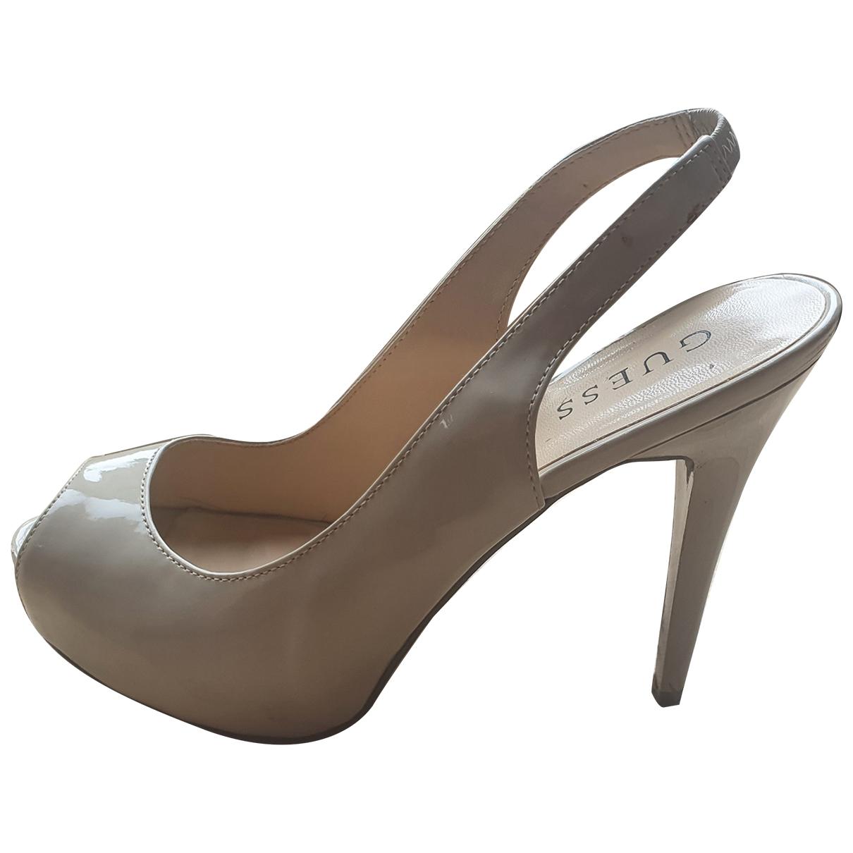 Guess \N Beige Heels for Women 8.5 US