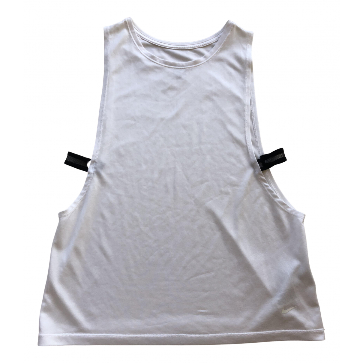Nike \N Top in  Weiss Polyester