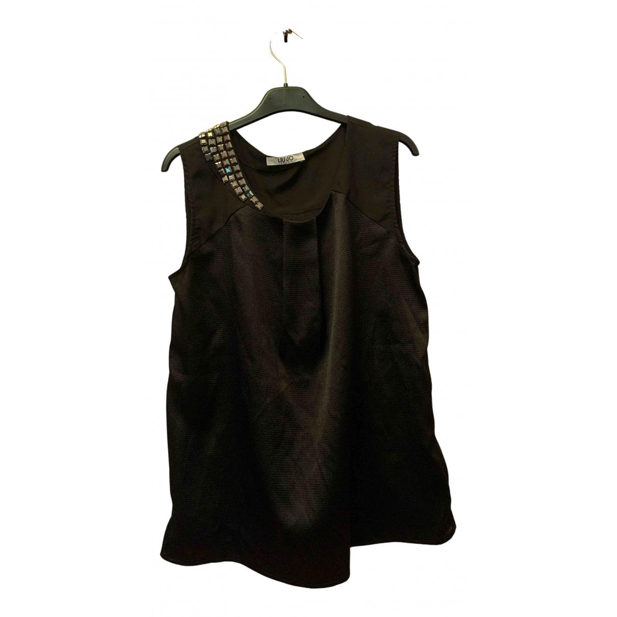 Liu.jo N Black  top for Women 40 IT