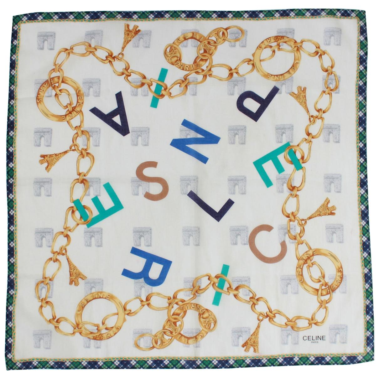 Celine - Foulard   pour femme en coton - multicolore