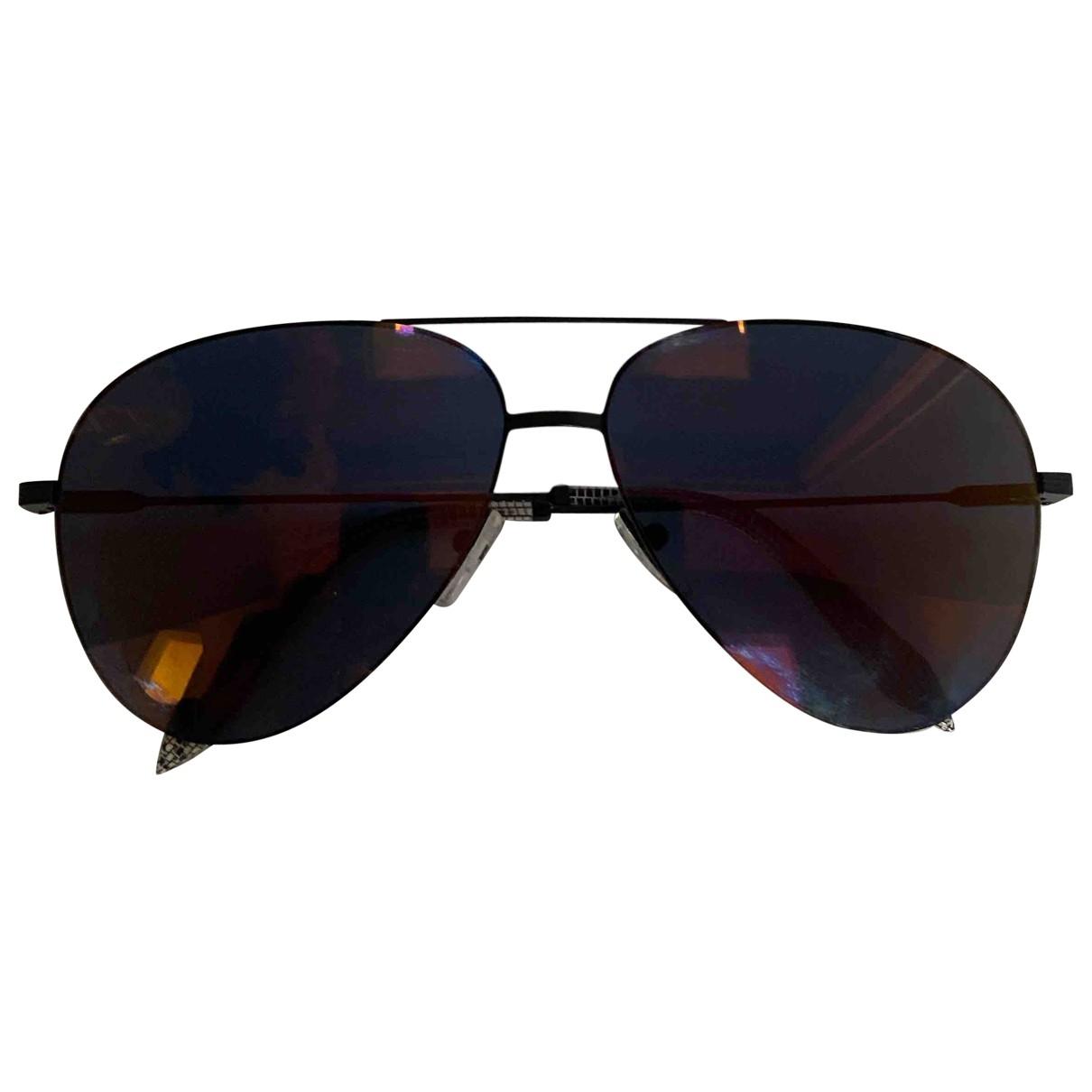 Victoria Beckham \N Sonnenbrillen in  Schwarz Metall