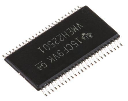 Texas Instruments SN74VMEH22501DGGR, 1 Bus Transceiver, Universal Bus Transceiver, 10-Bit Non-Inverting LVTTL, 48-Pin