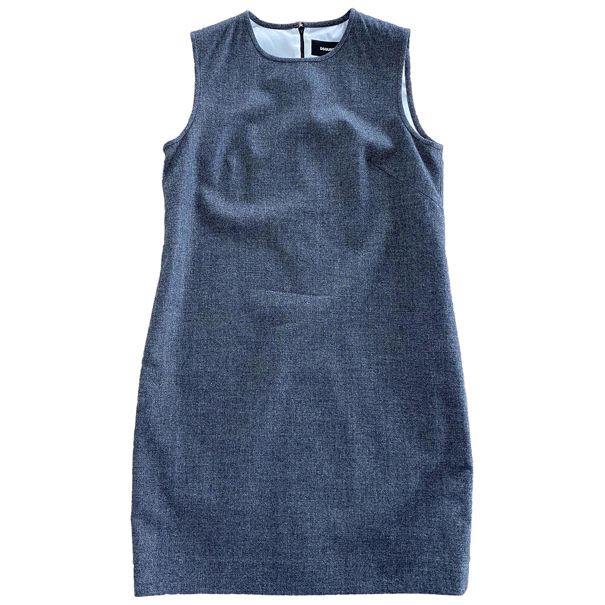 Dsquared2 - Robe   pour femme en laine - anthracite