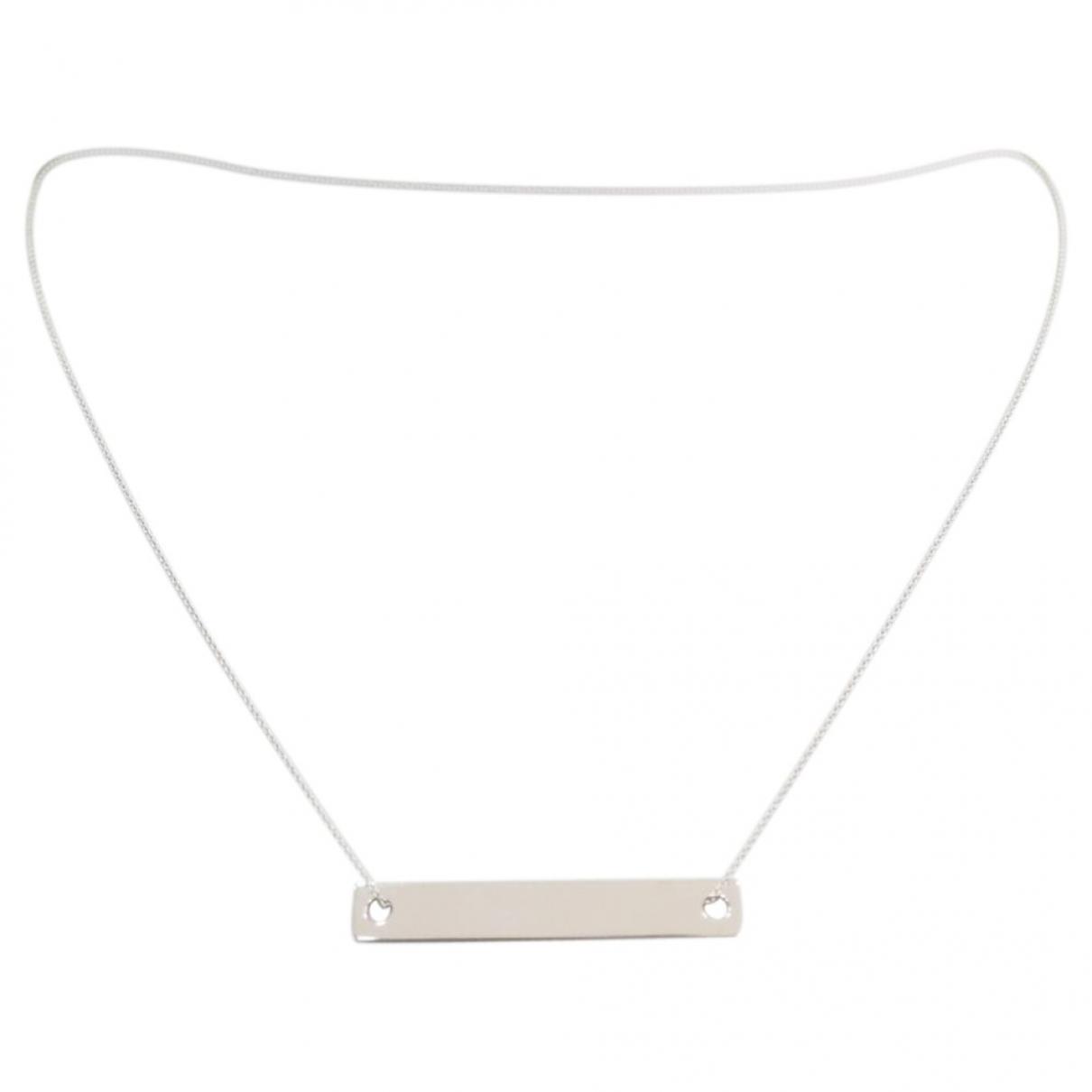 Collar de Oro blanco Ginette Ny