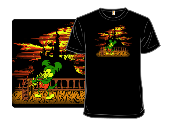 Steamboat Cthulhy T Shirt