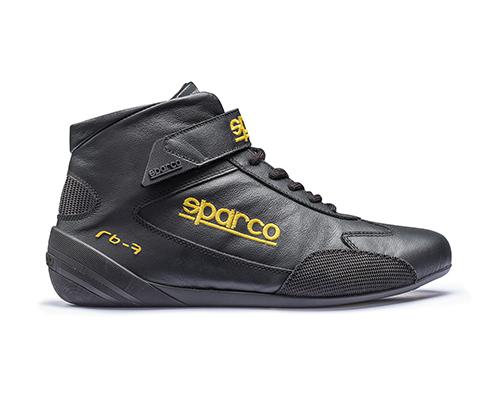 Sparco 00122448NR Black Cross RB-7 Driving Shoes EU 48 | US 14.5