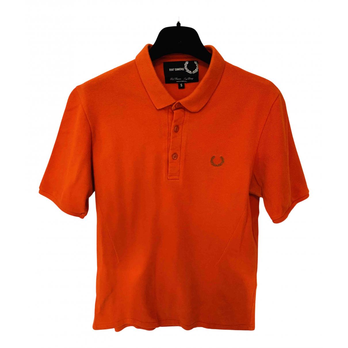Raf Simons - Polos   pour homme en coton - orange
