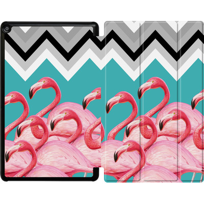 Amazon Fire HD 10 (2017) Tablet Smart Case - Flamingo Pattern von Mark Ashkenazi