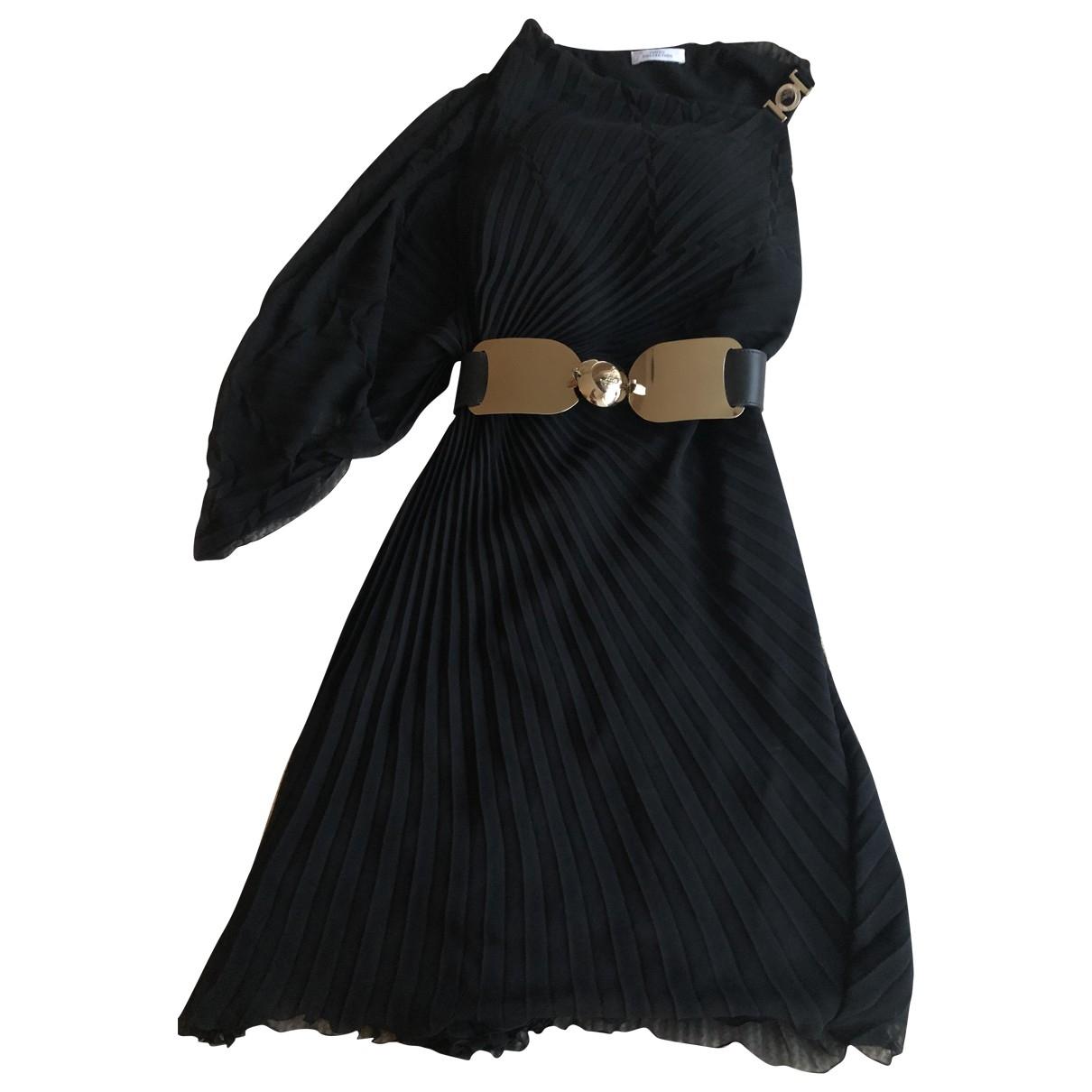 Gianni Versace \N Kleid in  Schwarz Polyester