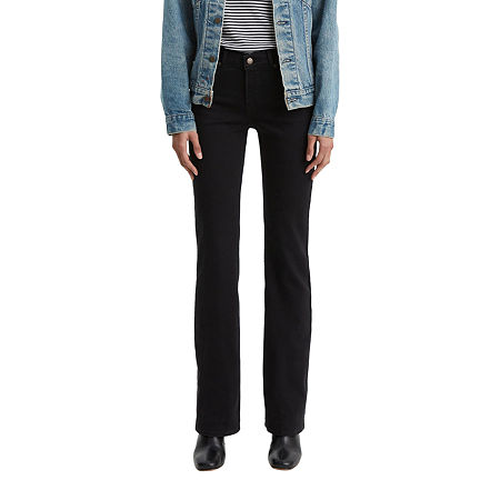 Levi's Classic Bootcut Jean, 8 Short , Black