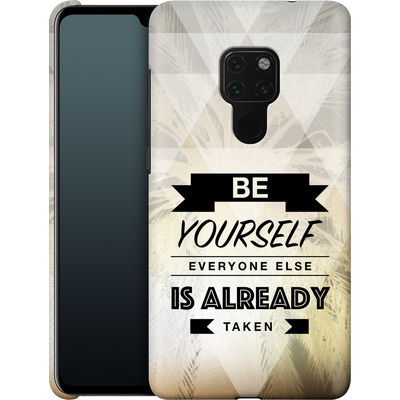 Huawei Mate 20 Smartphone Huelle - Be Yourself von Statements