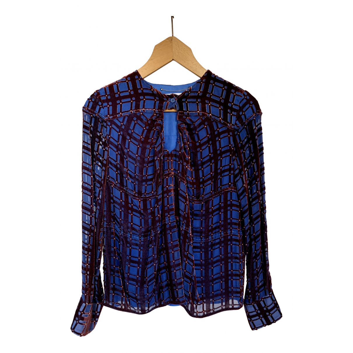 Carven N Blue  top for Women 36 FR