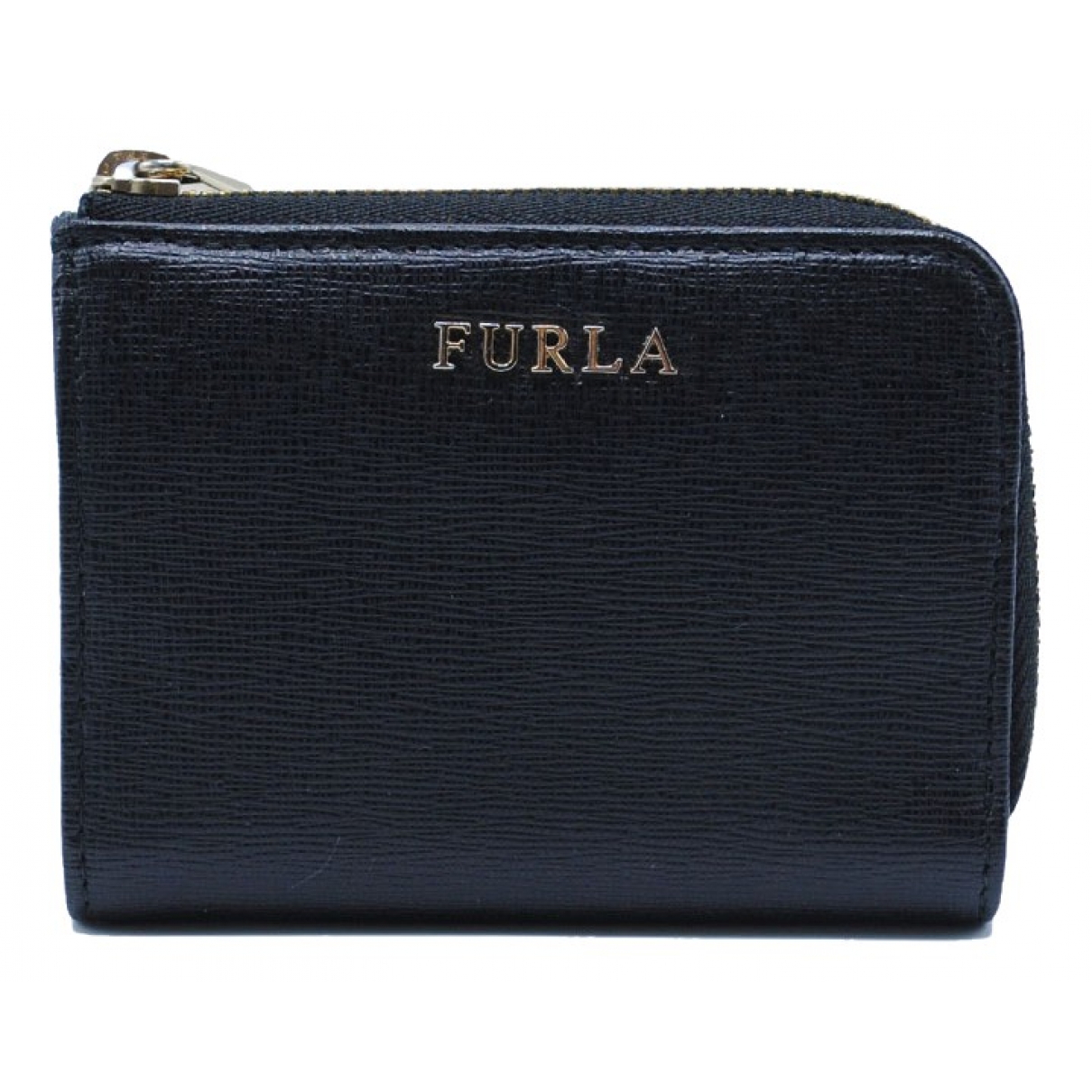 Furla \N Black Leather wallet for Women \N