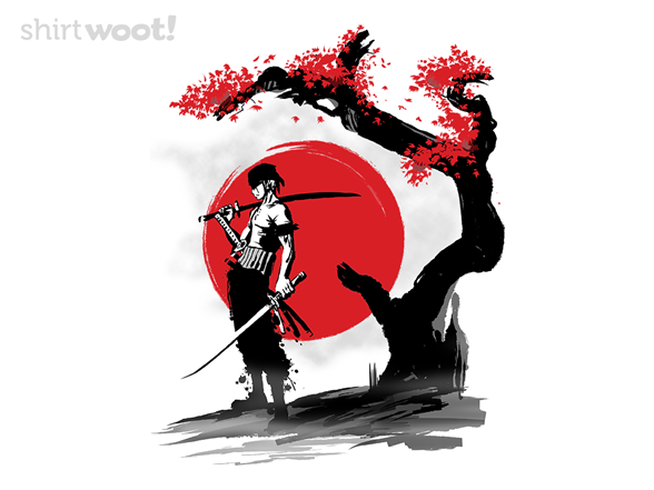 Swordsman Pirate T Shirt