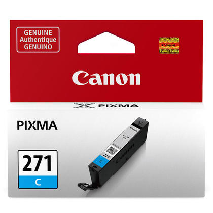 Canon CLI-271C 0391C001 Original Cyan Ink Cartridge