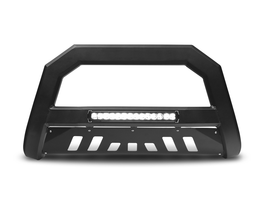 Armordillo 7176751 USA Matte Black AR Series Bull Bar w/ LED Chevrolet Silverado 1500 2007-2018