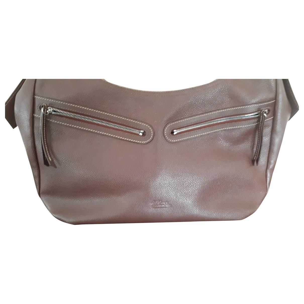 Longchamp Roseau Brown Leather handbag for Women \N