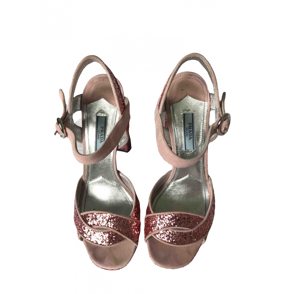 Sandalias de Con lentejuelas Prada