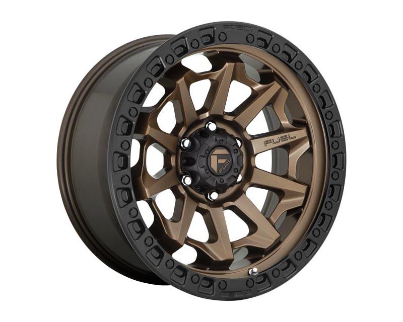Fuel D696 Covert Wheel 18x9 8x170 20 Matte Bronze Black Beadring