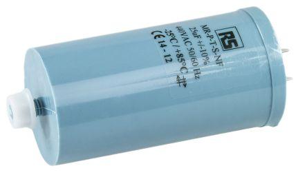 RS PRO 25μF Polypropylene Capacitor PP 440V ac ±10% Tolerance Screw Mount