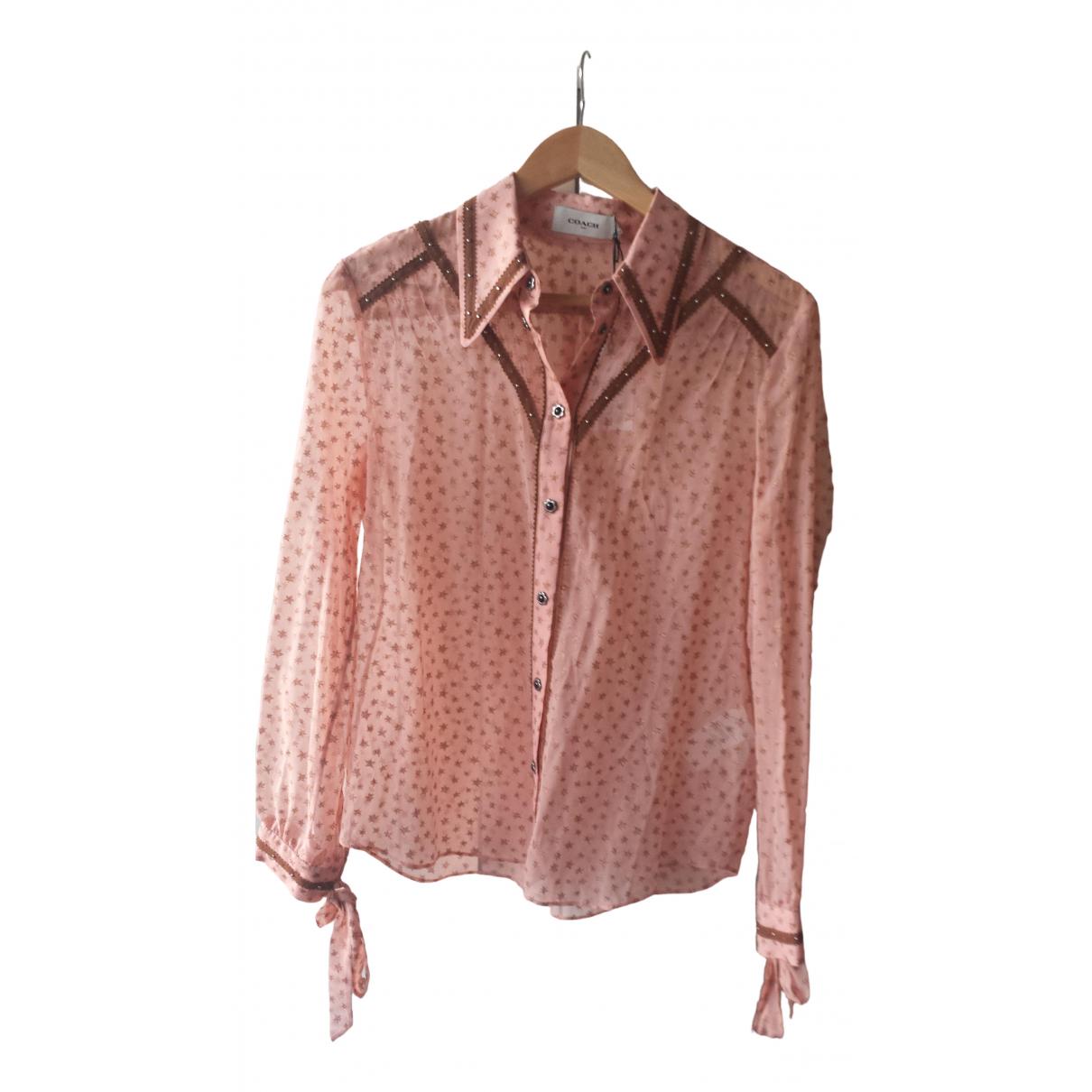 Camisa de Lino Coach
