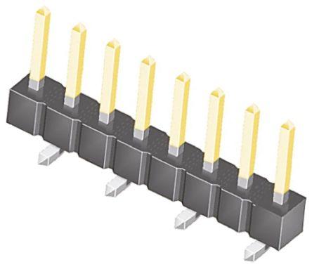 Samtec , TSM, 8 Way, 1 Row, Straight Pin Header