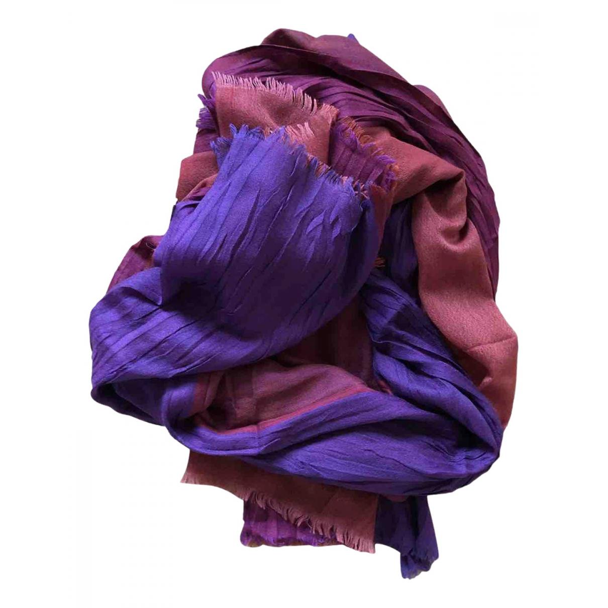 Loro Piana N Purple Cashmere scarf for Women N