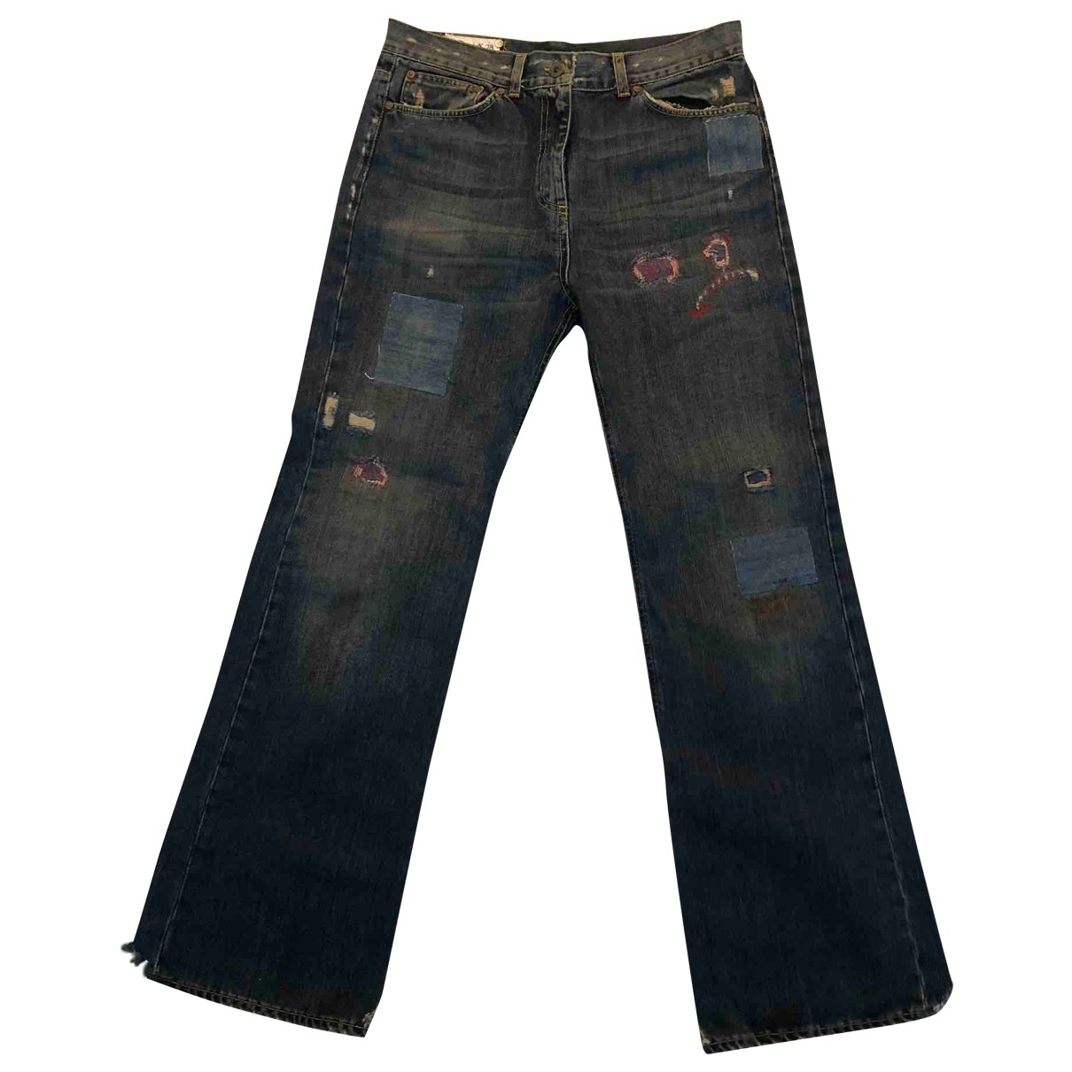 Dondup \N Blue Cotton Jeans for Women 29 US