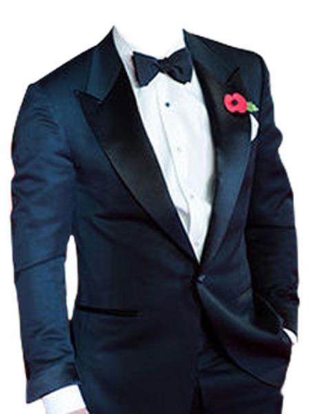 james bond ~ Daniel Craig Look Suit Tuxedo Midnight Blue